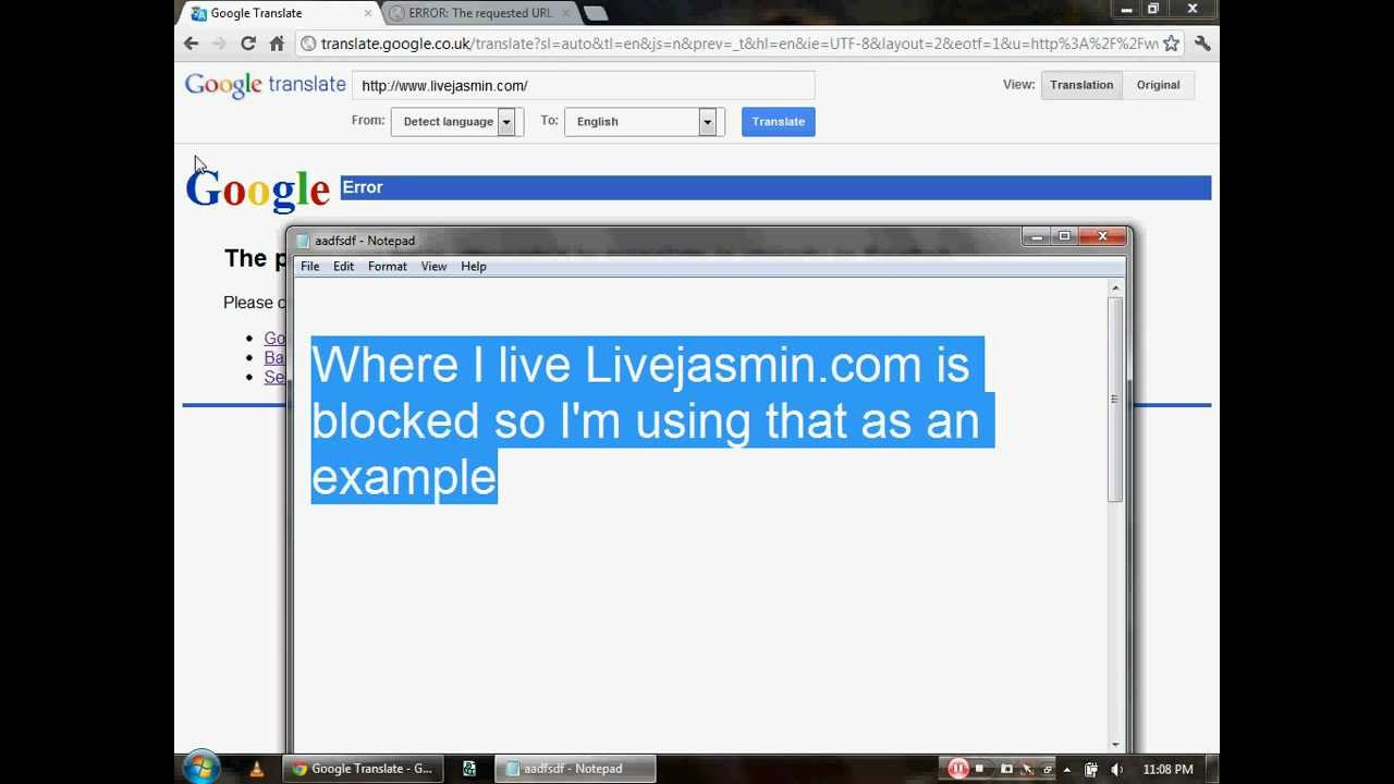 How to access blocked sites without using a proxy google translate youtube premium ccuart Gallery