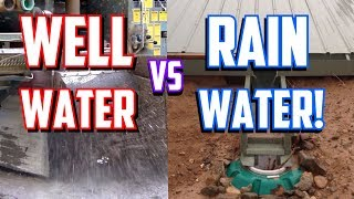 Rainwater Catchment vs. Water Wells | Pros & Cons