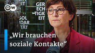 SPD Spitze fordert mehr Homeoffice und Schutz am Arbeitsplatz statt Ausgangssperren   DW Nachrichten
