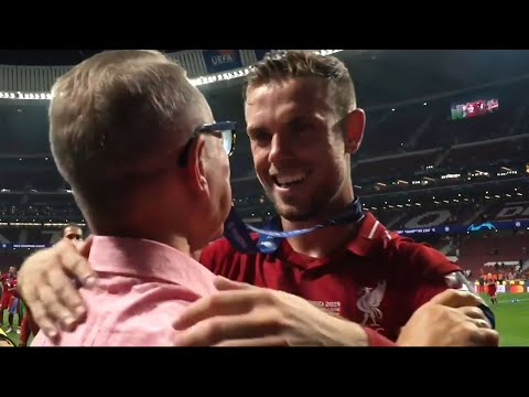 'Here's to you, Jordan Henderson' | A father's pride in the Liverpool captain