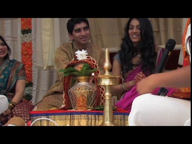 Indian Engagement Ceremony - DIVYA and AKASH