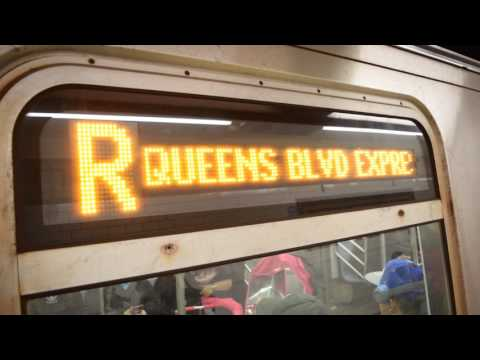 Prince Street (BMT Broadway Line) Action! (Weekend G.O.)