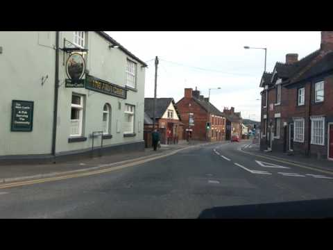 Car journey 1: Cheadle