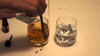 Эксперимент #5 - Йод + витамин c(аскорбинка)