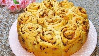 Пеку ХЛЕБ к Обеду или просто на перекус Невероятно Вкусный и Ароматный домашний ЧЕСНОЧНЫЙ Хлеб