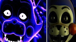 SHADOW CANDY NIGHT COMPLETED + FNAC 4 ENDING   FIVE NIGHTS AT CANDY'S REMASTERED!
