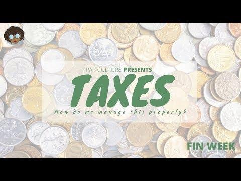 MANAGING YOUR TAXES | #PCFinWeek