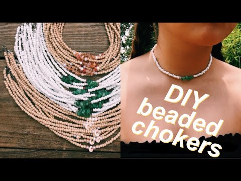 How to make a choker out of beads
