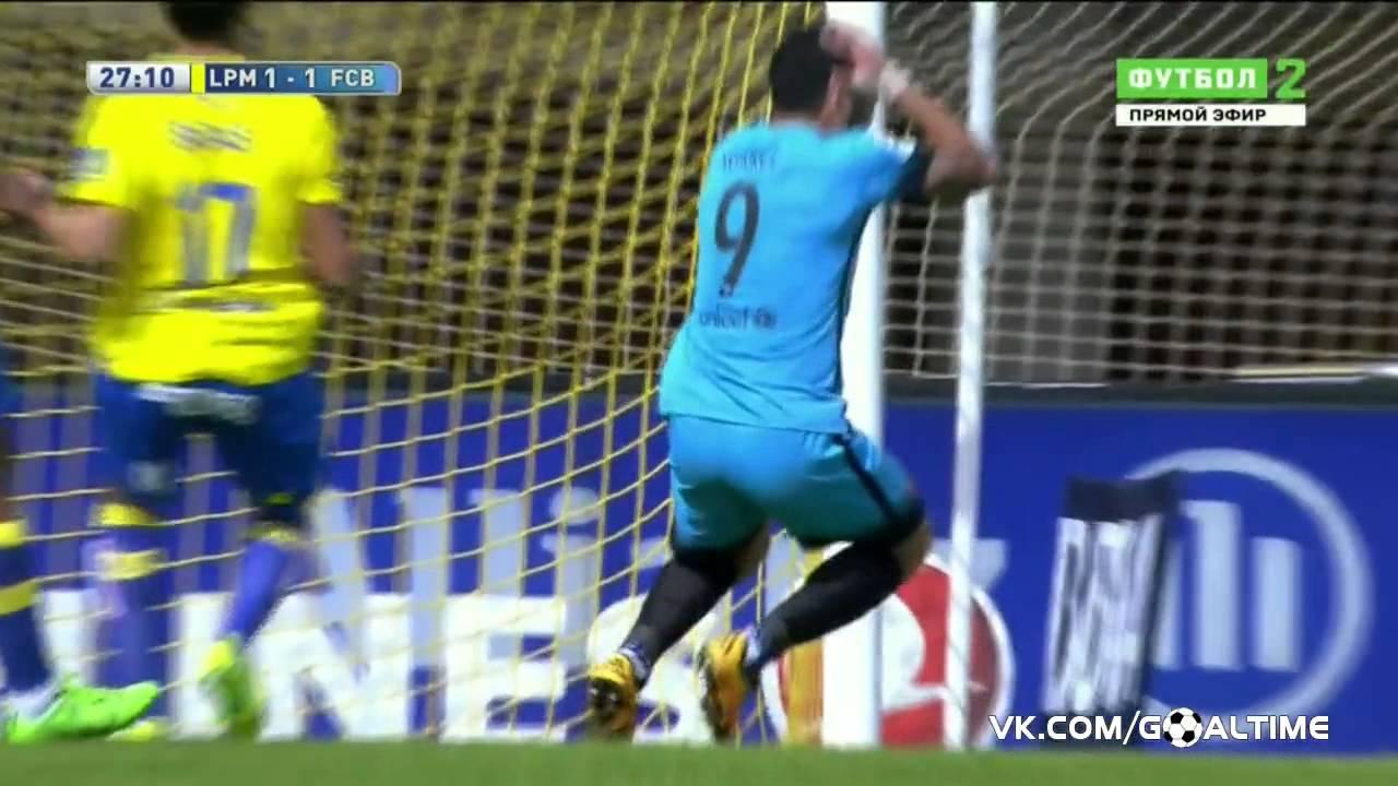Лас Пальмас   Барселона 1-׃2  Обзор матча  Испания  Ла Лига 2015⁄16  25 тур