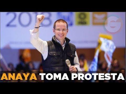 Ricardo Anaya toma protesta como candidato Presidencial del Frente  #Elecciones2018