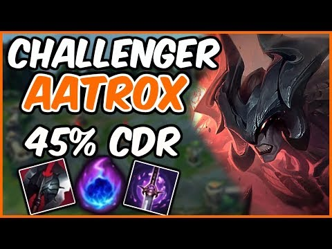 AATROX IS BROKEN? 45% CDR 3 SECOND DASH - ft. Heisendonger - League of Legends