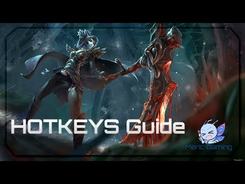Dota 2 - Hoykeys Guide Play like Pro Players [ Quick cast , Control group ..Etc]