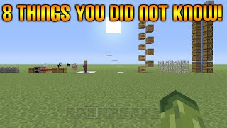 ★Minecraft Xbox 360 + PS3: 8 Cool Things You Possibly Didn