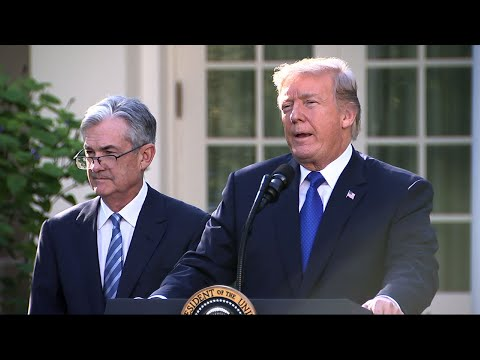 Trump Nominates Jerome Powell as Fed Chairman