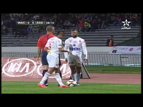 CL 2015-2016 : Wydad Casablanca vs As Douanes Niger 1ere Mi-Temps 14/02/2016