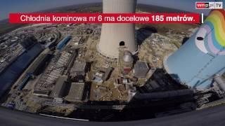 Budowa w Elektrowni Opole gotowa prawie w 75 proc. Zobacz, jak wygląda maszynownia nowych bloków