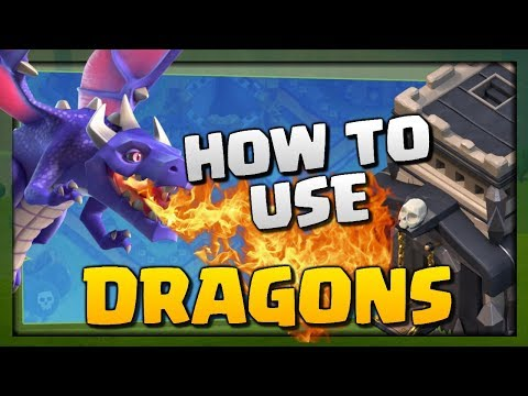 How to use Dragons - TH9 Attack Strategy Guide for 3 Stars | Clash of Clans Elite Gaming CCL Week 2