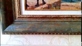 Рама для картины из багета № 984-06 (+ пампорту) from luxury #Gobelens(Не забывайте ставить ЛАЙК, если конечно понравилось!)) ☆ ▷ Желательно смотреть в HD качестве ✓ Больше..., 2013-10-23T17:33:11.000Z)