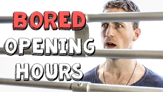 Opening Hours - Bored Ep 67 (Office Inspired Rule Stickler - Retail be like) | Viva La Dirt League
