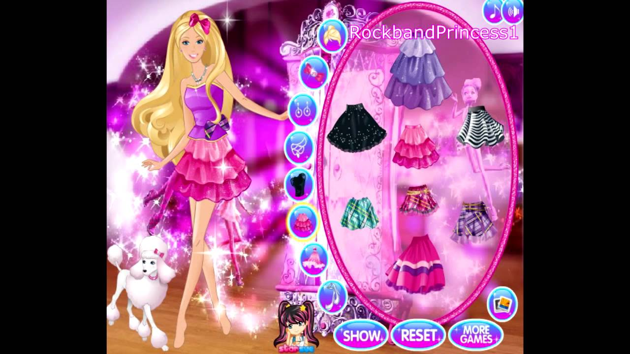 Barbie Online Games To Play Free Barbie Cartoon Game Barbie A Fashion Fairytale Makeover Game Youtube