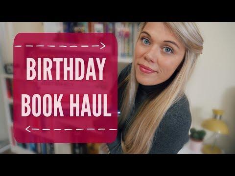 Birthday Book Haul   September 2017