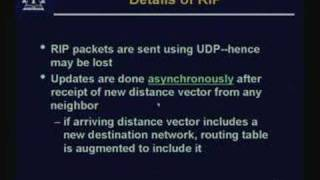 Lecture - 27 RIP - Distance Vector Routing