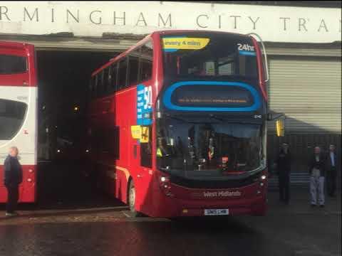Yardley Wood Bus Garage Saturday 10th November 2018 Youtube