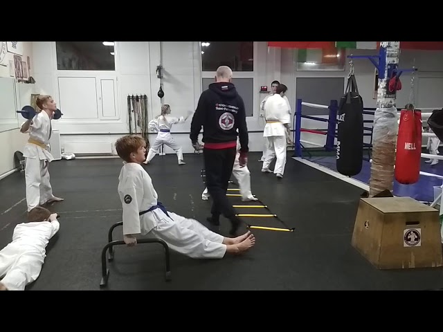 Тренировка-кросфит