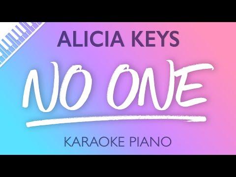 Alicia Keys - No One (Karaoke Piano)