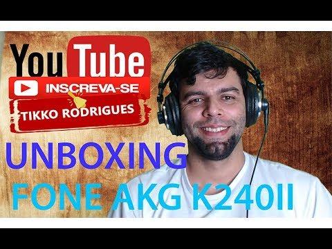 UNBOXING PHONE AKG K240 MKII
