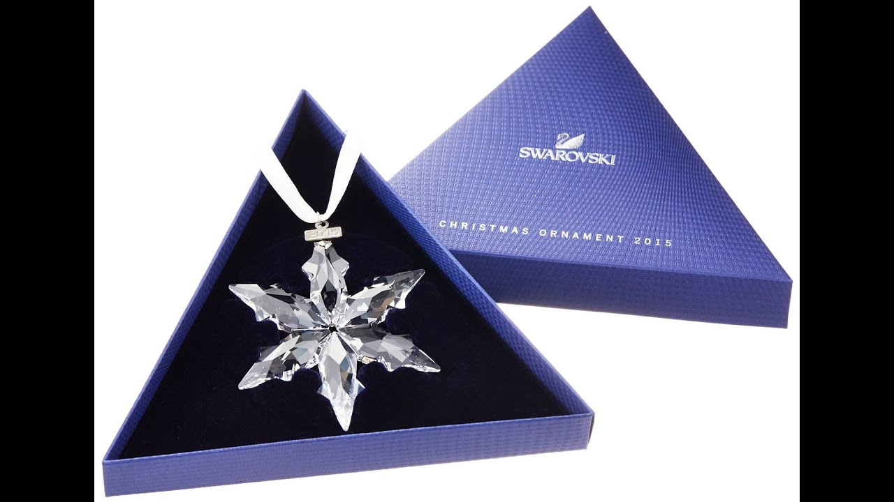 Swarovski Crystal Christmas Ornaments