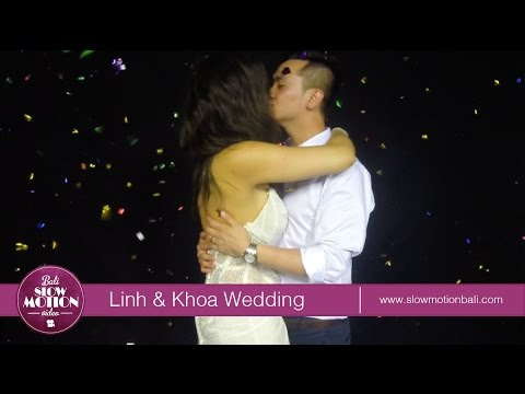 Download Bali Slow Motion Video - Linh & Khoa Wedding Party