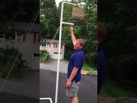 DIY Vertical Leap Measuring Device