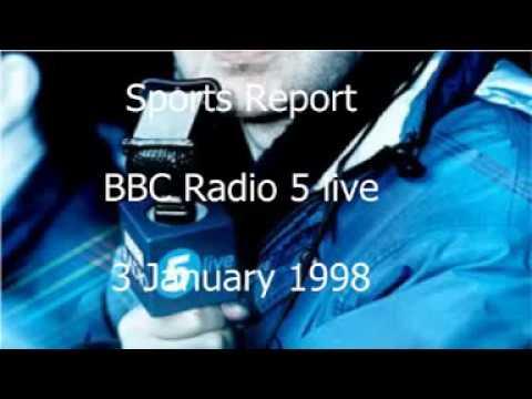 Sports Report 3 January 1998