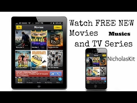 Movie Box - Watch FREE LATEST HD Movies, TV Series, and Musics on iOS / Android - YouTube