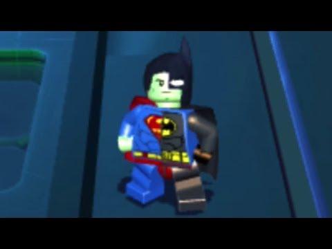 Lego Batman 3: Beyond Gotham (PS Vita/3DS/Mobile) Composite Superman Unlock/Showcase