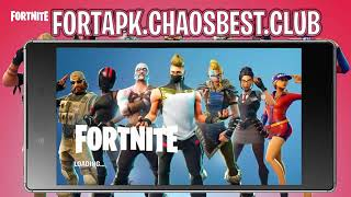 How To Play Fortnite On Android - Download Fortnite Android *Fortnite APK* 2018