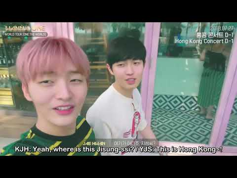[ENG SUB] 180917 Wanna One - World Tour...