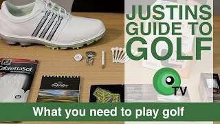 Justin's Guide to Golf: What you need to play golf (the pro shop)