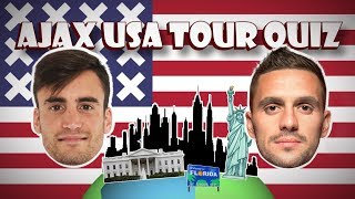 AJAX USA TOUR QUIZ #1 - 'Kom op... de King of Pop!'