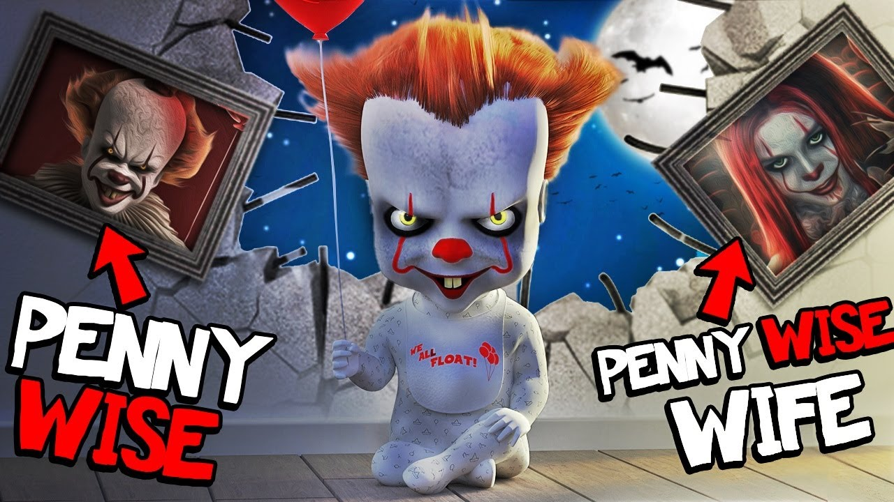 Finding PENNYWISE FAMILY In GTA 5 Mods (Scary)