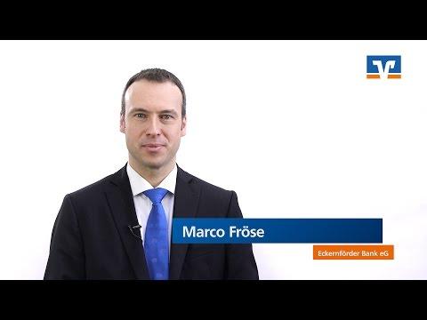 Eckernförder Bank EG | Marco Fröse über Baufinanzierung, Kredit, Zinsen Und Fördermittel