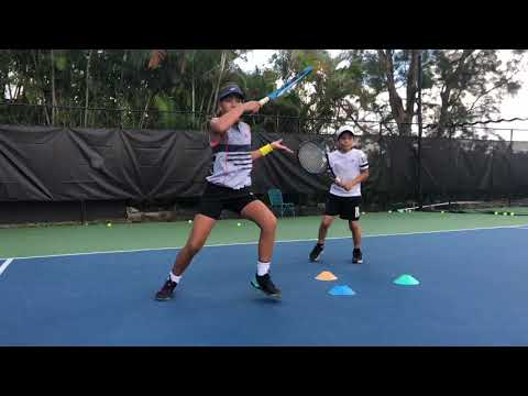 Baixar Developing Tennis Champions with Coach Dabul. Players on the videos are between 8 and 11 y/o