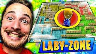 *NOUVEAU* le jeu du *LABY-ZONE* sur Fortnite Battle Royale !