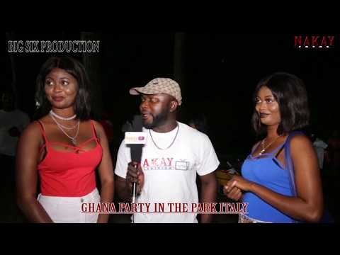 GHANA PARTY IN THE PARK ITALY 2017