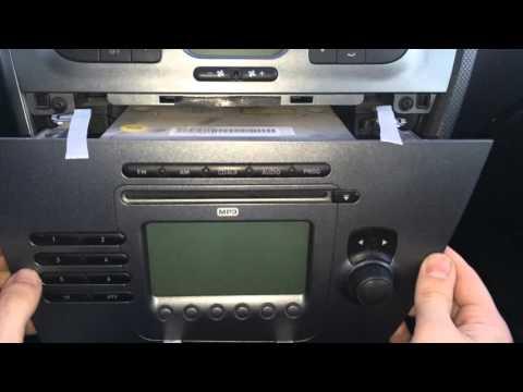 Extraer radio Seat Leon 2 / Altea / Toledo