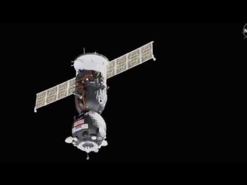 Перестыковка корабля Союз МС 13 на МКС  Запись 2019 08 26 07 04