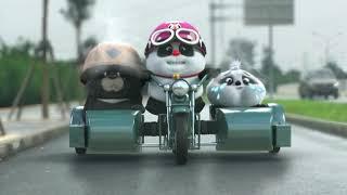 【Bamboo Panda ❤】FULL Version !!! Save Panda Babygirl | Chinese Short Animation | Funny | 熊猫班卜 #panda