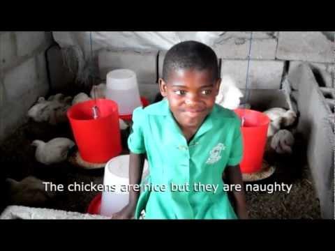 Teaching Children In Swaziland To Farm