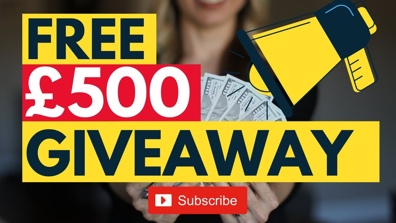 HOW TO ENTER OUR £500 CASH GIVEAWAY COMPETITION!
